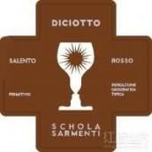 萨门蒂十八干红葡萄酒(Schola Sarmenti Diciotto Salento Rosso IGT,Puglia,Italy)