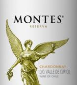蒙特斯珍藏霞多丽干白葡萄酒(Montes Reserva Chardonnay,Curico Valley,Chile)