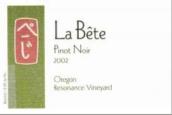 猛兽斯共振园黑皮诺干红葡萄酒(La Bete Resonance Vineyard Pinot Noir,Oregon,USA)