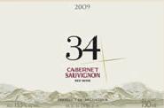 卡雷利34系列赤霞珠干红葡萄酒(Bodega Carelli 34 Cabernet Sauvignon,Mendoza,Argentina)