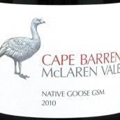 巴伦角本地鹅歌海娜西拉慕合怀特干红葡萄酒(Cape Barren Native Goose GSM,McLaren Vale,Australia)