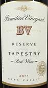 柏里欧织锦珍藏红葡萄酒(Beaulieu Vineyard BV Reserve Tapestry, Napa Valley, USA)