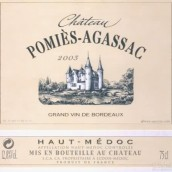 达加萨克波密干红葡萄酒(Chateau Pomies-Agassac,Haut-Medoc,France)