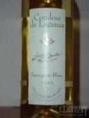 乐甘萨酒庄长相思干白葡萄酒(Condesa de Leganza Sauvignon Blanc,La Mancha,Spain)