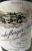 伊贡米勒沙兹堡雷司令精选白葡萄酒(Egon Muller - Scharzhof Scharzhofberger Riesling Auslese, Mosel, Germany)