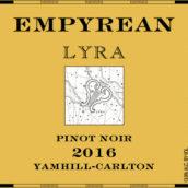 苍穹天琴座黑皮诺干红葡萄酒(Empyrean Wines Lyra Pinot Noir, Yamhill-Carlton, USA)