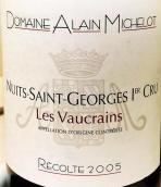 阿兰·米谢露维克(夜圣乔治一级园)红葡萄酒(Domaine Alain Michelot Les Vaucrains, Nuits-St-Georges Premier Cru, France)
