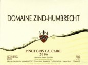 鸿布列什钙质灰皮诺白葡萄酒(Domaine Zind-Humbrecht Calcaire Pinot Gris, Alsace, France)