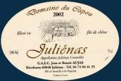 卡布埃朱丽娜至尊干红葡萄酒(Domaine du Capou Julienas Prestige,Beaujolais,France)