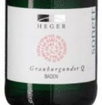 黑格Q十四行诗灰皮诺干白葡萄酒(Weingut Dr.Heger Q Sonett Grauburgunder Qba Trocken,Baden,...)