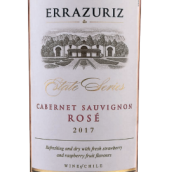 伊拉苏庄园赤霞珠桃红葡萄酒(Errazuriz Estate Cabernet Sauvignon Rose,Central Valley,...)