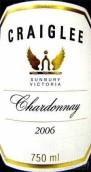 克雷利霞多丽干白葡萄酒(Craiglee Vineyard Chardonnay,Sunbury,Australia)