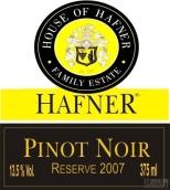 哈夫纳之屋珍藏黑皮诺干红葡萄酒(House of Hafner Reserve Pinot Noir,Neusiedlersee,Austria)