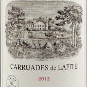 拉菲珍宝(小拉菲)红葡萄酒(Carruades de Lafite,Pauillac,France)