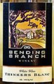 曲枝思想者们干白葡萄酒(Bending Branch Thinkers Blanc,Texas,USA)