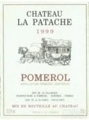 巴塔西酒庄干红葡萄酒(Chateau La Patache, Pomerol, France)