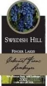 瑞典山酒庄品丽珠-莱姆贝格干红葡萄酒(Swedish Hill Winery Cabernet Franc-Lemberger,Finger Lakes,...)