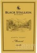 黑骏马麝香甜白葡萄酒(Black Stallion Winery Muscat,North Coast,USA)