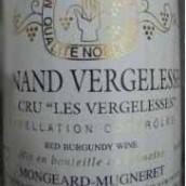 奇梦韦热莱斯园干红葡萄酒(Domaine Mongeard Mugneret Les Vergelesses, Pernand-Vergelesses Premier Cru, France)
