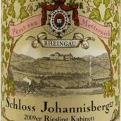约翰山弗斯特梅特涅雷司令半干型小房酒(Schloss Johannisberg Furst von Metternich Riesling Kabinett Halbtrocken, Rheingau, Germany)