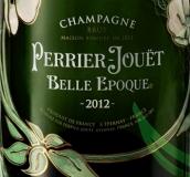 巴黎之花花样年华极干型香槟(Champagne Perrier-Jouet Belle Epoque Brut, Champagne, France)