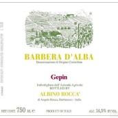 Albino Rocca Gepin Barbera d'Alba,Piedmont,Italy