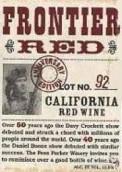 帕克国境红葡萄酒(Fess Parker Frontier Red,California,USA)