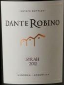 旦特西拉干红葡萄酒(Bodega Dante Robino Syrah, Mendoza, Argentina)