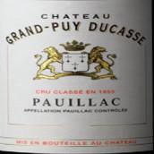 杜卡斯庄园红葡萄酒(Chateau Grand-Puy-Ducasse,Pauillac,France)