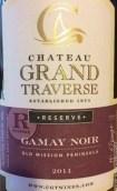 穿越酒庄珍藏佳美干红葡萄酒(Chateau Grand Traverse Reserve Gamay Noir, Old Mission Peninsula, USA)