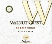 埃米利亚纳胡桃冠佳美娜干红葡萄酒(Emiliana Walnut Crest Carmenere,Rapel Valley,Chile)