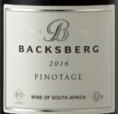 贝克斯堡酒庄皮诺塔吉红葡萄酒(Backsberg Pinotage, Paarl, South Africa)