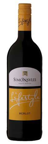西蒙斯雷生活梅洛干红葡萄酒(Simonsvlei Lifestyle Merlot,Paarl,South Africa)