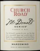 車路德麥當勞瑪澤米諾干紅葡萄酒(Church Road McDonald Series Marzemino, Hawkes Bay, New Zealand)