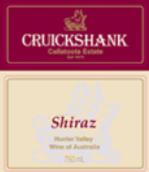 克鲁仙客西拉葡萄酒(Cruickshank Callatoota Estate,Shiraz,Hunter Valley,Australia)