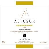 索非亚阿图索长相思干白葡萄酒(Finca Sophenia Altosur Sauvignon Blanc,Tupungato,Argentina)