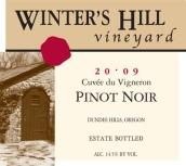 冬山种植者特酿黑皮诺干红葡萄酒(Winter's Hill Vineyard Cuvee du Vigneron Pinot Noir, Dundee Hills, USA)