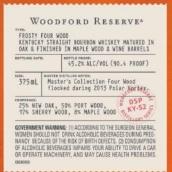 伍德福德珍藏霜冻四木纯波本威士忌(Woodford Reserve Frosty Four Wood Straight Bourbon Whiskey,...)