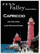 芬恩谷狂想曲干红葡萄酒(Fenn Valley Vineyards Capriccio, Lake Michigan Shore, USA)