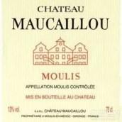 莫卡洛酒庄干红葡萄酒(Chateau Maucaillou,Moulis,France)