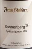 琼施托登索南伯格黑皮诺特级园红葡萄酒(Jean Stodden Neuenahrer Sonnenberg Spatburgunder Grosses ...)