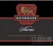 可诺西拉干红葡萄酒(Knorhoek Shiraz, Stellenbosch, South Africa)