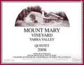 玛丽山五重奏干红葡萄酒(Mount Mary Vineyard Quintet Red Blend,Yarra Valley,Australia)