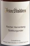 琼施托登赫伦贝格黑皮诺干红葡萄酒(Jean Stodden Recher Herrenberg Spatburgunder QbA Trocken, Ahr, Germany)