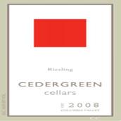 赛德格林酒庄雷司令干白葡萄酒(Cedergreen Cellars Riesling,Columbia Valley,USA)
