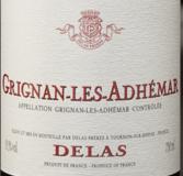 德拉斯兄弟格里昂-安德玛干红葡萄酒(Delas Freres Grignan Les Adhemar,Cotes du Rhone,France)