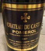 杜卡斯特尔酒庄红葡萄酒(Chateau du Castel, Pomerol, France)