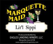 鹰陆马奎特少女小西比半甜型白葡萄酒(Eagles Landing Winery Marquette Maid Lit'l Sippi,Iwoa,USA)