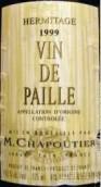 莎普蒂尔麦秆甜白葡萄酒(M.Chapoutier Vin de Paille,Ermitage,France)