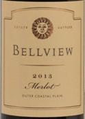 贝尔维尤梅洛干红葡萄酒(Bellview Winery Merlot,Outer Coastal Plain,USA)